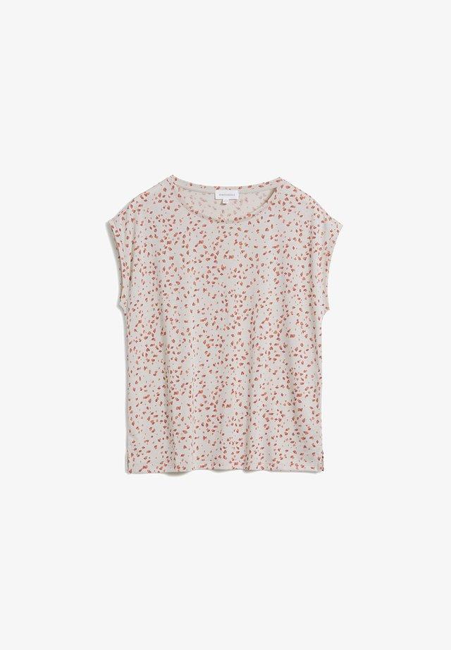 JENNAA - T-Shirt print - brown