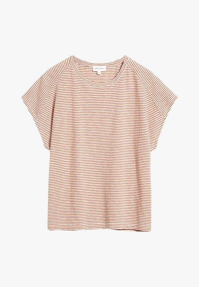 OFELIAA PRETTY - Print T-shirt - starfish-off white
