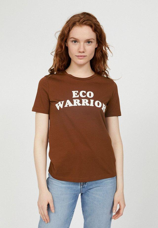 MARAA ECO WARRIOR - T-Shirt print - cacao