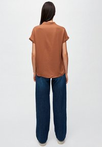 ARMEDANGELS - ILONAA - Button-down blouse - brown - 2