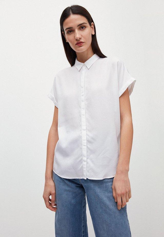 ZONJAA - Button-down blouse - white