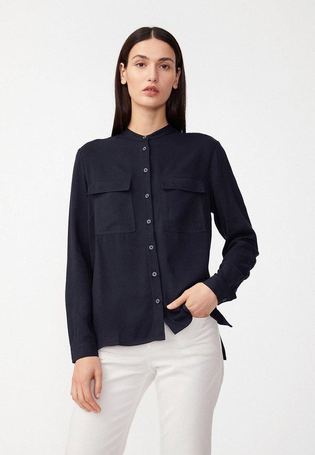 PIHLAA - Button-down blouse - night sky