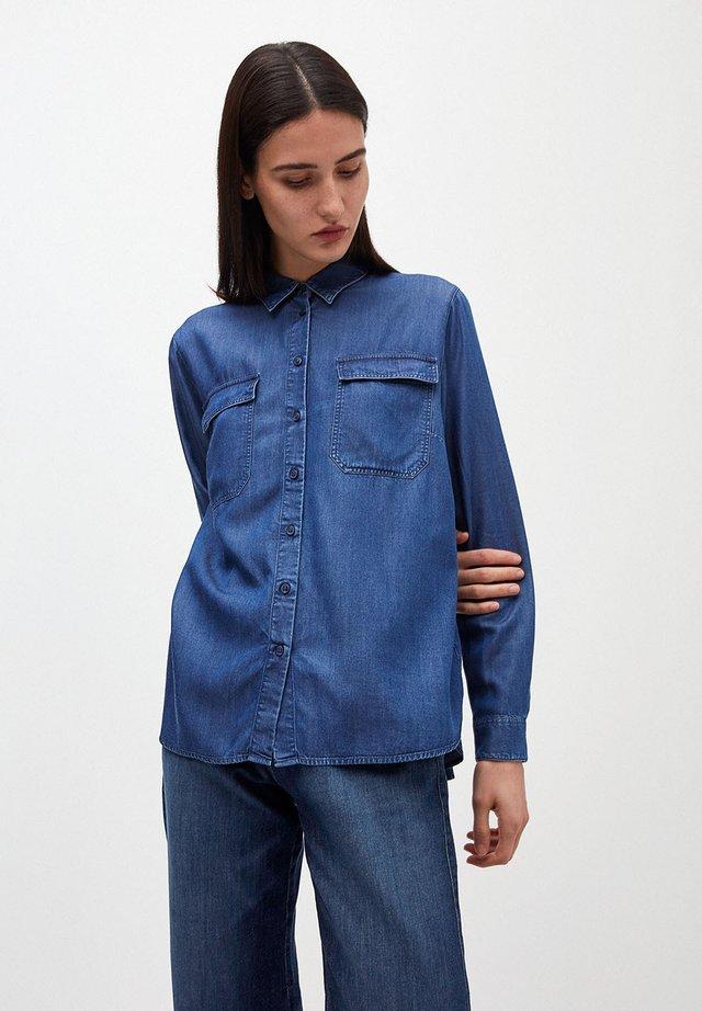 MIHKAA - Button-down blouse - basic denim blue