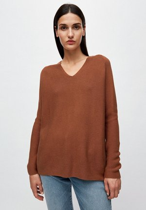 FAARINA - Jumper - brown