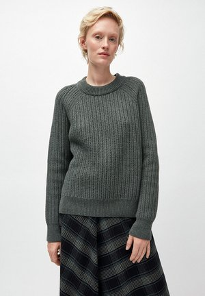 HINAA - Jumper - juniper green melange