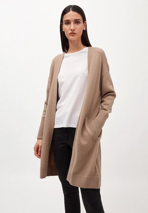 SILVIAA - Cardigan - light camel
