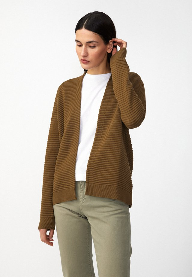 VEAA - Cardigan - golden khaki