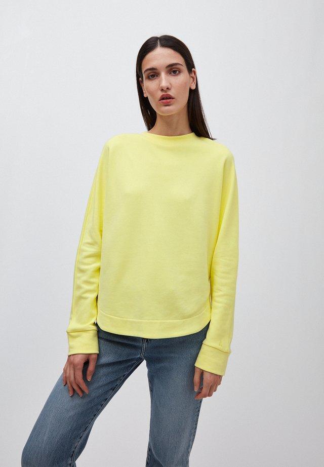 HELAA LOGO - Sweatshirt - lime