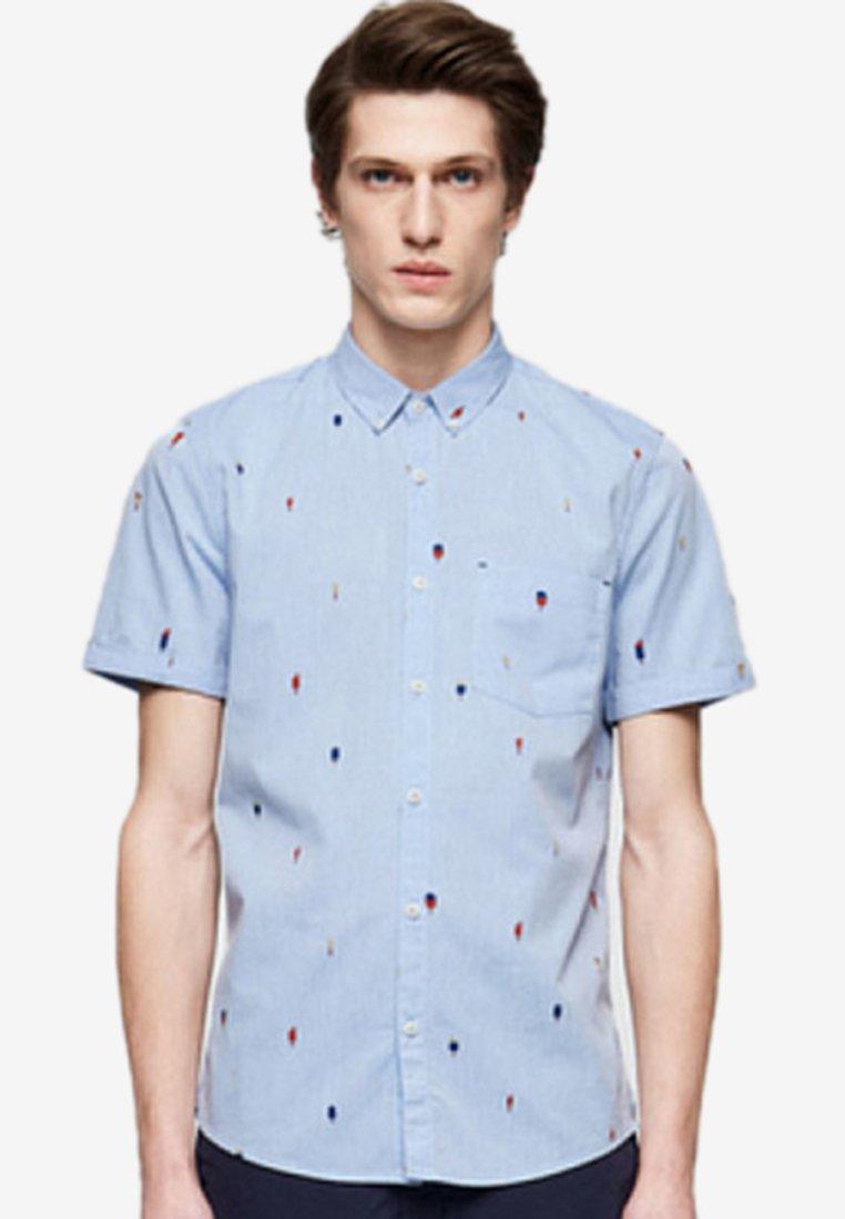 ARMEDANGELS - JAAKOV GLACE - Shirt - blue