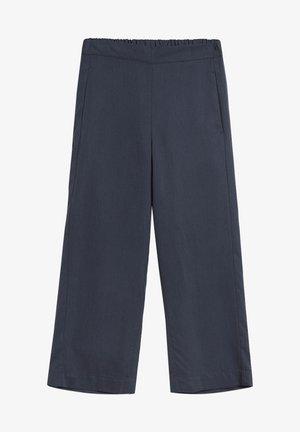 KAMALAA - Trousers - frozen blue