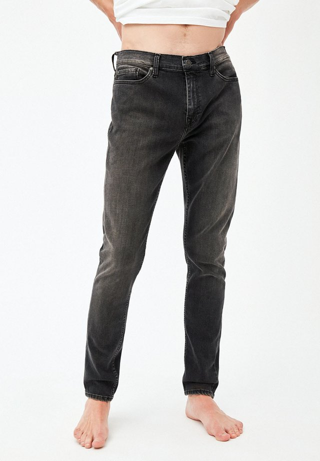 SLIM FIT DENIM IAN BLACK - Slim fit jeans - used black