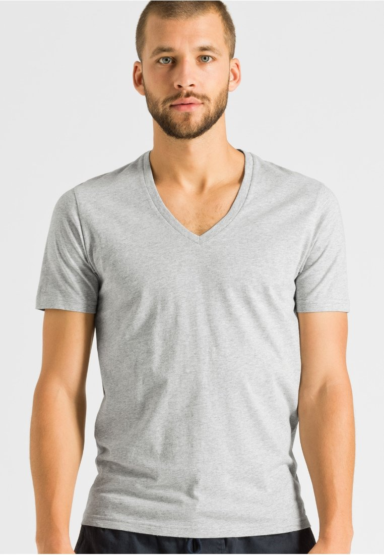ARMEDANGELS - CHAARLIE - T-Shirt basic - grey melange