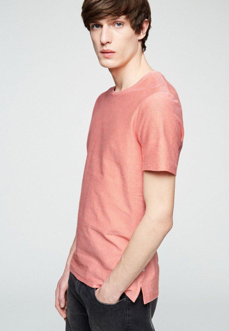 ARMEDANGELS - SAAM - T-Shirt print - glossy orange