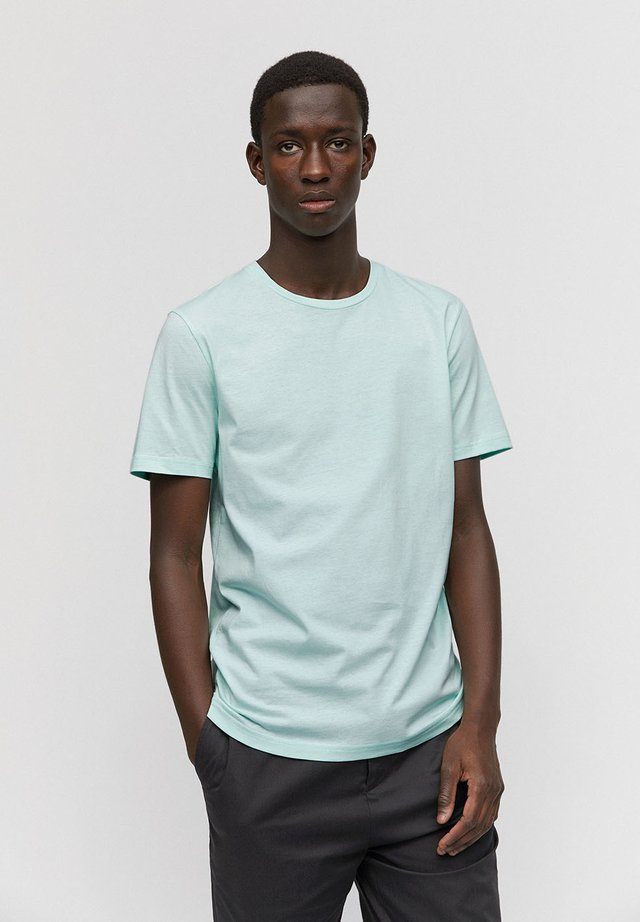JAAMES - T-shirt basic - washed mint green