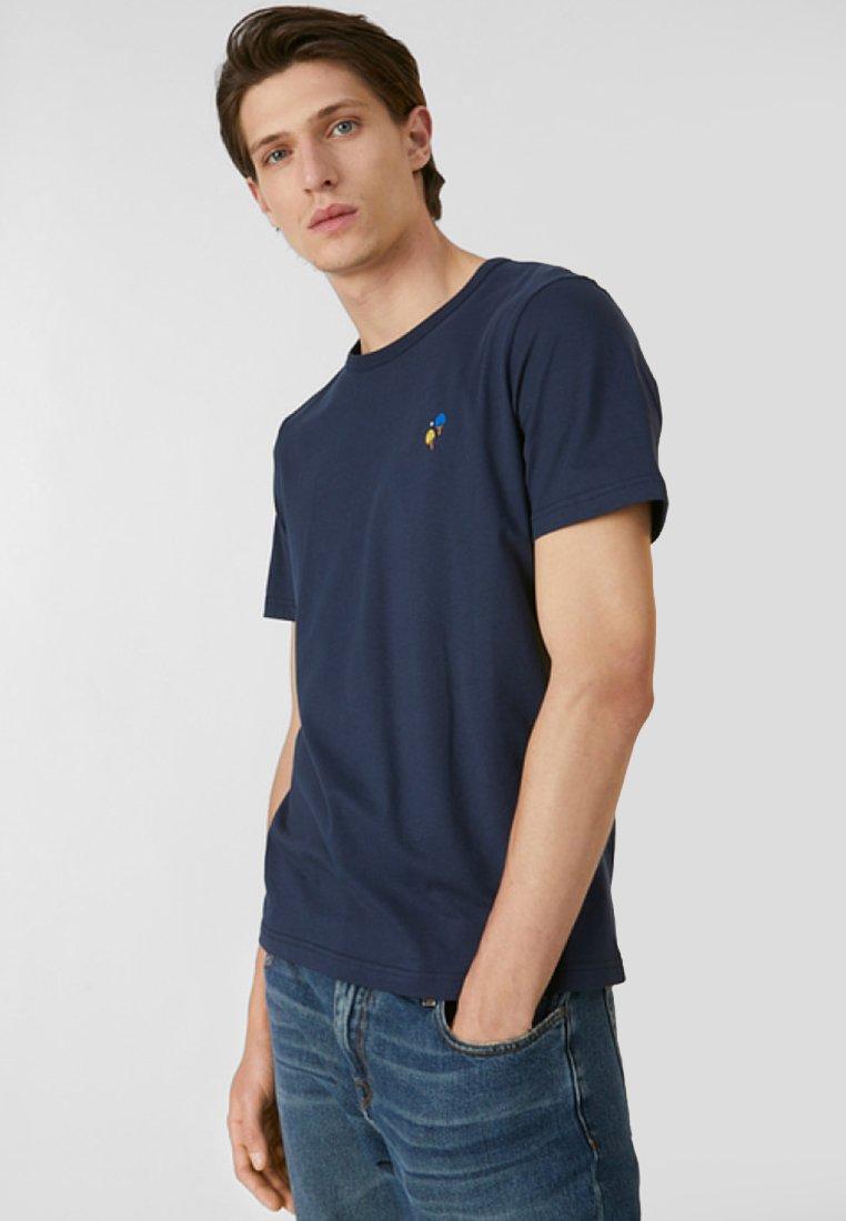 ARMEDANGELS - PAAUL PING PONG - T-Shirt basic - navy
