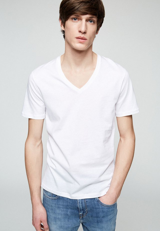 CHAARLIE - T-shirt basic - white