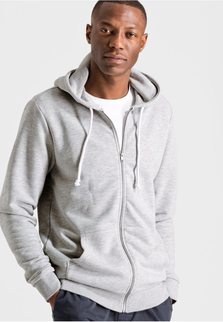 ARMEDANGELS - JOAA - Zip-up hoodie - grey melange