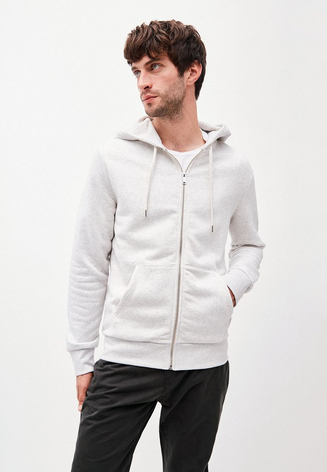 JOAA - Zip-up hoodie - ecru melange