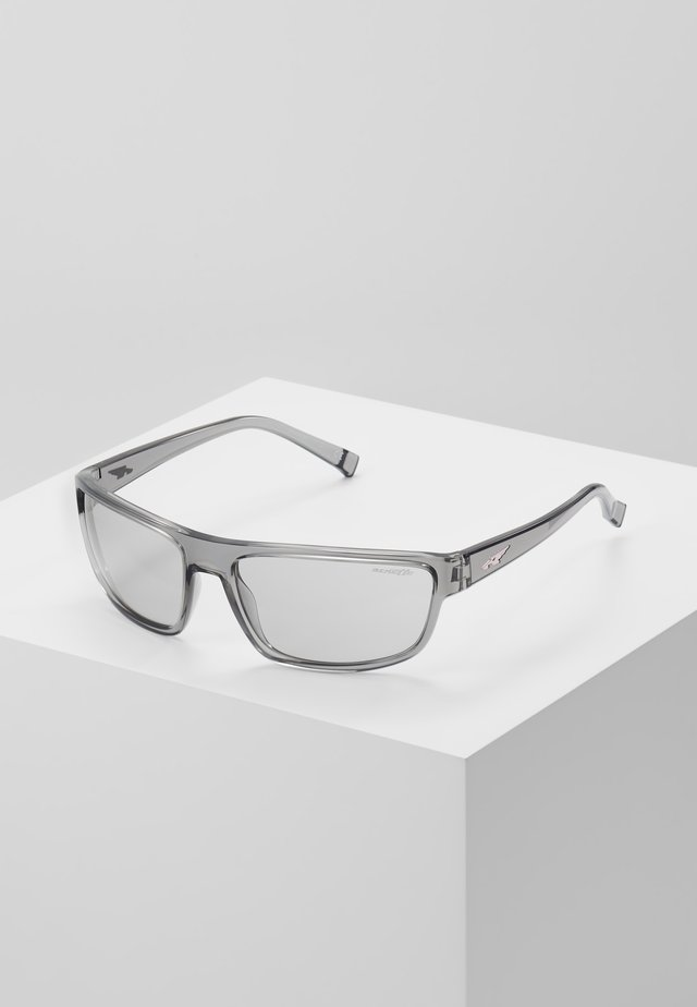 BORROW - Sunglasses - transparent grey