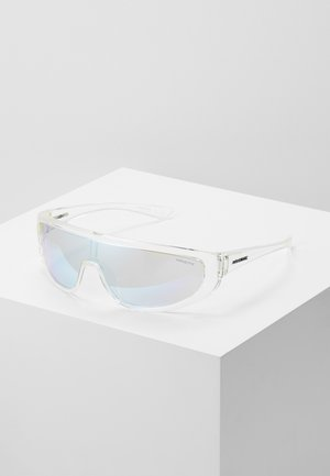 Sunglasses - transparent/light grey/mirror blue