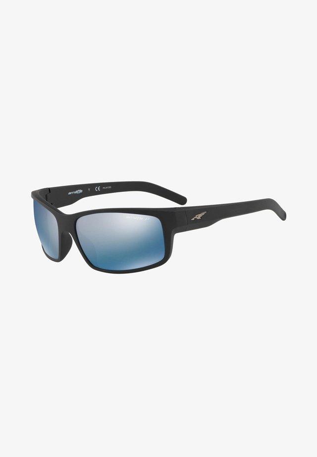 FASTBALL  - Sunglasses - matte black/blue