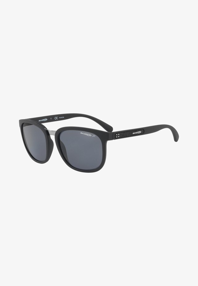 TIGARD - Sunglasses - matte black/grey