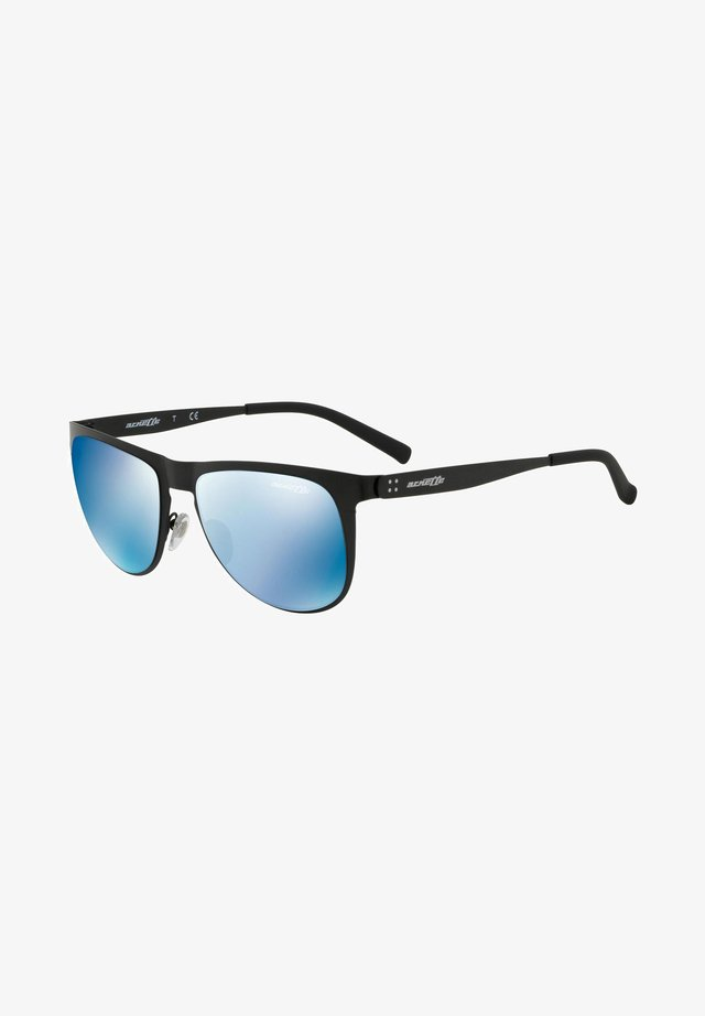JONESER - Sunglasses - matte black/blue