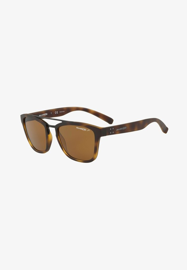 HUAKA AN  - Sunglasses - matte havana/brown