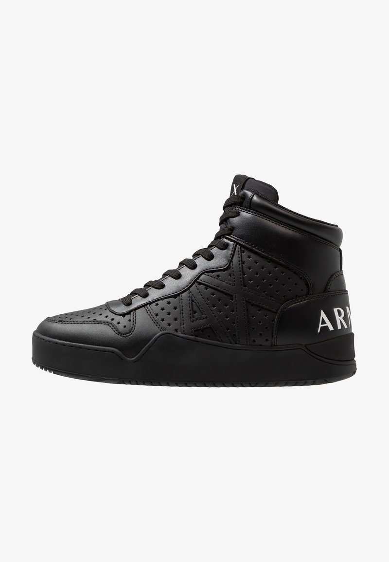 Armani Exchange - BASKET TOP - Sneakers alte - black