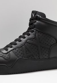 Armani Exchange - BASKET TOP - Sneakers alte - black - 6