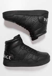 Armani Exchange - BASKET TOP - Sneakers alte - black - 1
