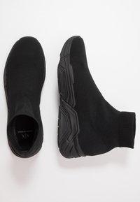Armani Exchange - Sneakersy wysokie - black - 1