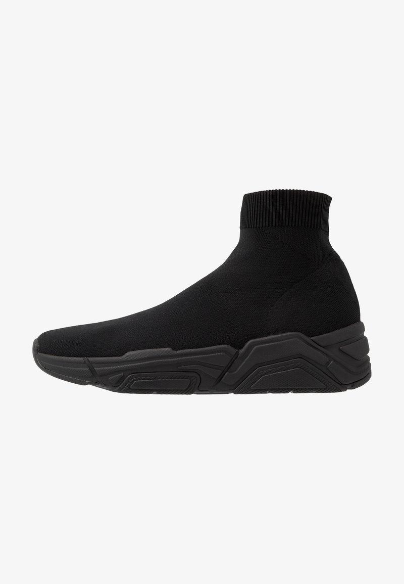 Armani Exchange - Sneakersy wysokie - black
