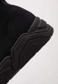 Armani Exchange - Sneakersy wysokie - black - 6