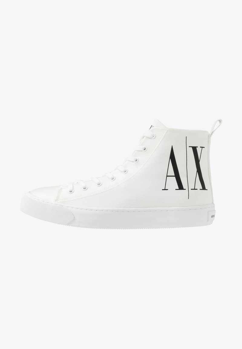 Armani Exchange - Sneakers high - optical white