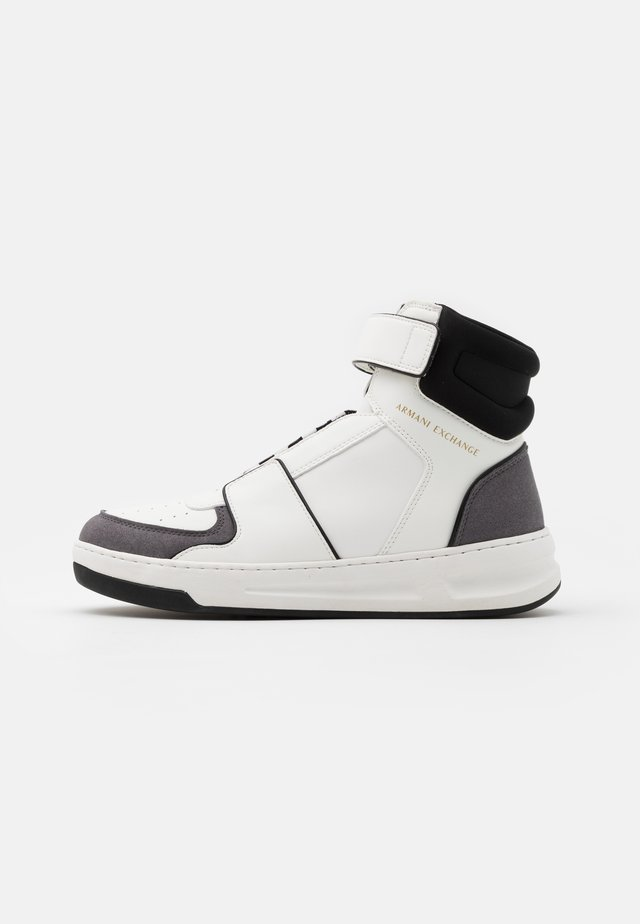 Sneakers high - white/grey