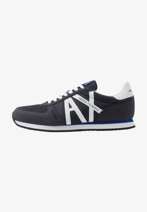 RETRO RUNNER - Baskets basses - navy/white