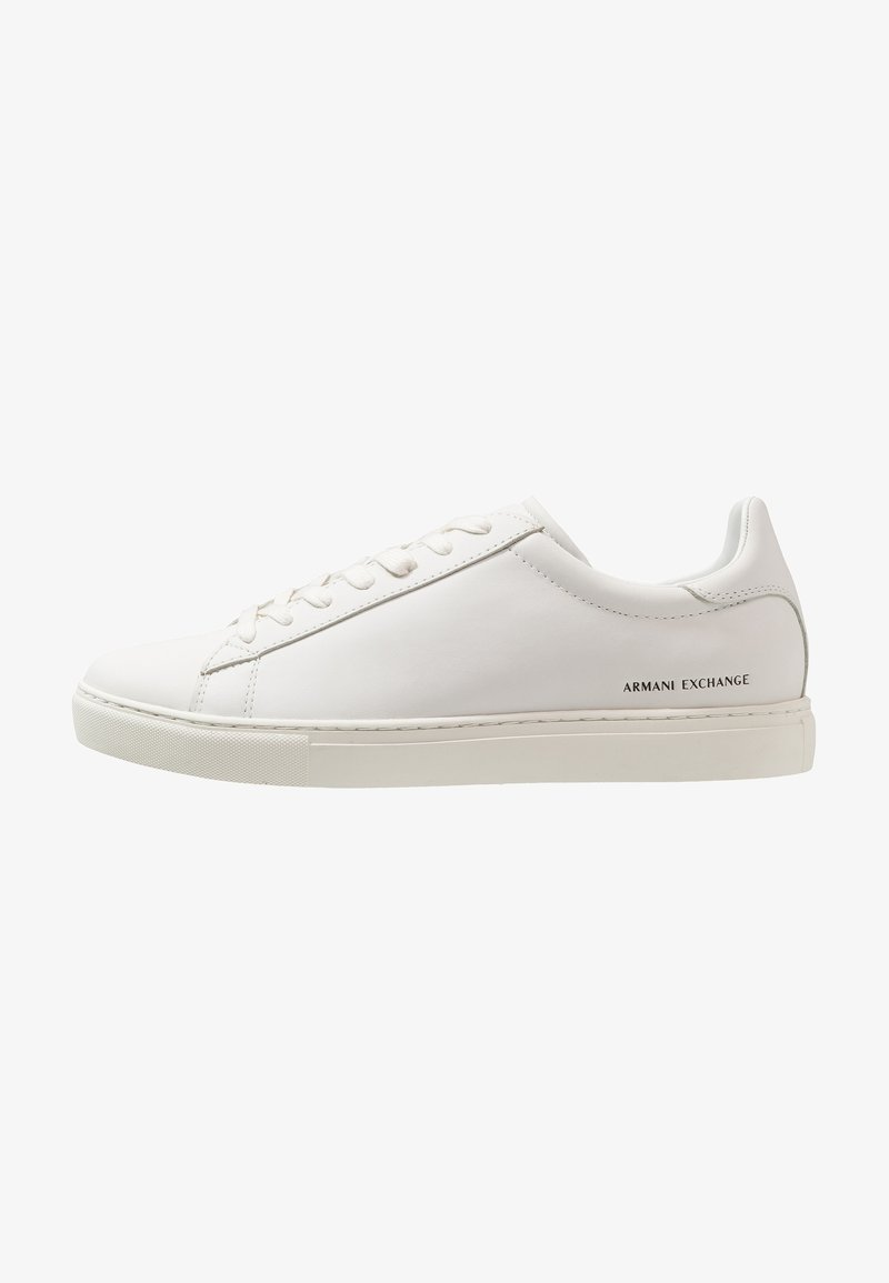 Armani Exchange - CLEAN CUPSOLE - Sneakers laag - white