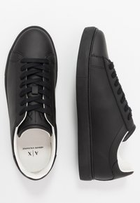 Armani Exchange - CLEAN CUPSOLE - Sneakers laag - black - 1