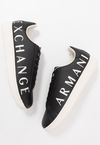 Armani Exchange - Sneakers - black/ivory - 5