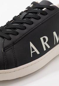 Armani Exchange - Sneakers - black/ivory - 6
