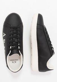 Armani Exchange - Sneakers - black/ivory - 1