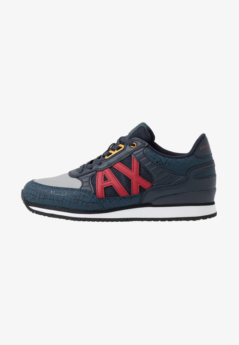 Armani Exchange - RING RUNNER - Sneaker low - blue/grey