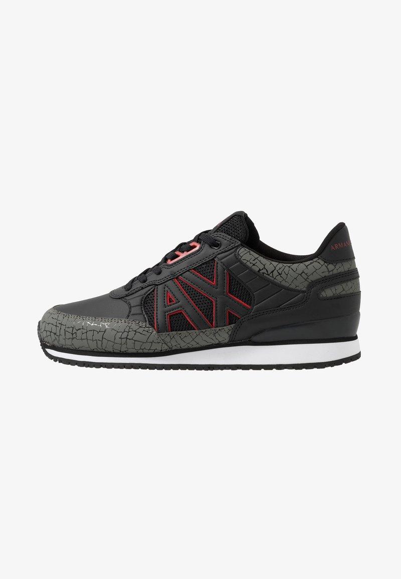 Armani Exchange - RING RUNNER - Sneaker low - black/gunmetal