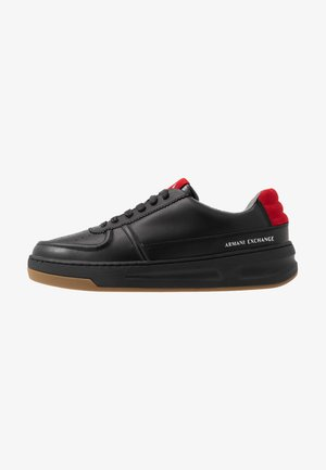 CHUNKY TENNIS - Trainers - black/red