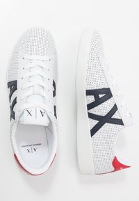 Armani Exchange - Sneakers - optic white/navy/red - 1