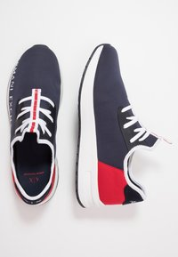 Armani Exchange - Baskets basses - navy/red - 1