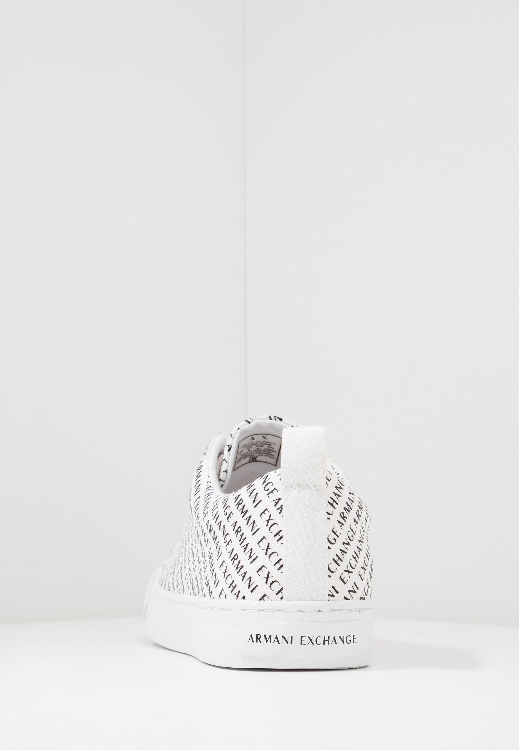 Armani Exchange Sneakers basse - optic white/black
