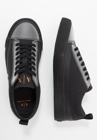 Armani Exchange - Trainers - black/white - 1