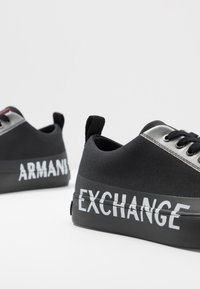Armani Exchange - Trainers - black/white - 5